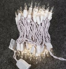 100 Clear Mini Lights White Wire Christmas Wedding Party (FREE SHIPPING) #3132