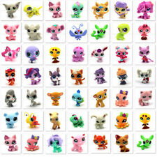 Hot Sale Toys Littlest pet shop Dog Cat Lion Sheep Fox Bird Lps For Doll house