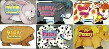 A Baby Animal Board Book - Early Learning 6 Page Picture Books - 7 Farm Designs