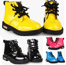 Sweet Design Boy Girl's Baby/Kid's Shoes Childern's Martin Boots  PU Leather