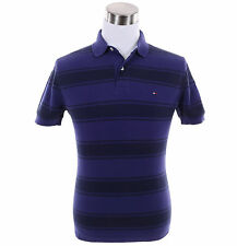 Tommy Hilfiger Men Short Sleeve Stripe Custom Fit Pique Polo Shirt - $0 Shipping