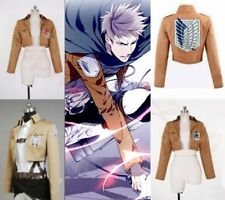 Attack on Titan Shingeki no Kyojin Eren Cosplay Anime Costume Jacket Coat