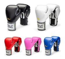 Everlast Pro Style Boxing Training Gloves Blue Red White Black Pink 10 12 14 16