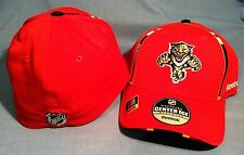 FLORIDA PANTHERS TEAM PRIM COLOR PRO SHAPE STRUCTURED FLEX FIT NHL CAP BY REEBOK