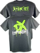 DX D-Generation X Suck It WWE Mens Gray T-shirt