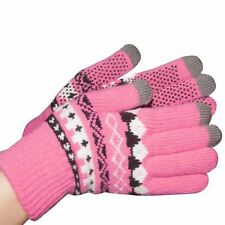 Requisite Womens Ladies Touch Screen Gloves Hands LED Winter Warm Accessory New
