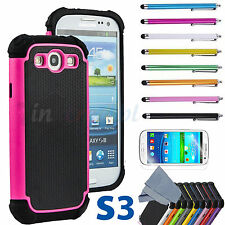 PC Shockproof Dirt Dust Proof Hard Cover Case For SAMSUNG GALAXY S III S3 i9300