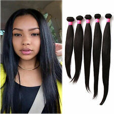 """CHEAP STRAIGHT NATUARAL COLOR UNPROCESSED 100% INDIAN HUMAN HAIR WEAVE 10""""-30"""""""