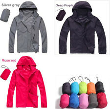 Hot Windproof Waterproof Jacket Bike Bicycle Outdoor Sports Rain Coat Men Women