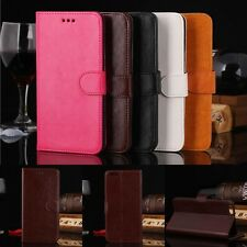 Luxury Glossy Leather Flip Card Wallet Stand Case Cover Pouch For Apple iPhone 6