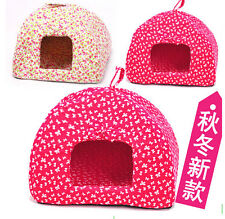 Pet Dog Cat Puppy Animal House Shelter Tent Mongolian Yurt Bed Kennel C472-473