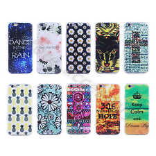 TPU Super Slim 0.6mm Soft Rubber Silicone Back Fitted Cover Case For Smart Phone