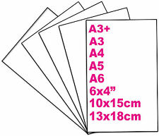 50 Sheets Glossy Photo Paper 6x4 10x15 13x18 A3 A4 A5 A6