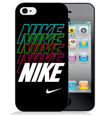 Nike Neon Cool Swoosh Hard Plastic Phone Case for iPhone 6, 6 PLUS, 5c, or 5/5s