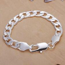 Top sale hot 925 sterling silver Fashion cute nice men chain Bracelet Jewelry