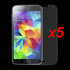 5x Anti-Glare Matte/ HD Clear Screen Protector Film for Samsung Galaxy S5 Mini