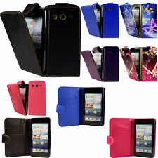 Flip Pu Leather Flip Case Wallet Cover For The Huawei Ascend G520 G525