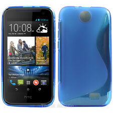 Silicone TPU Gel Bumper Case Cover Sleeve Skin For HTC Desire 310