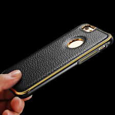 Luxury Real Genuine Leather Back Hard Cover Case Skin For Apple iPhone 6 /6 Plus