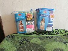 NEW~ WOMEN'S 10 PACK FRUIT OF THE LOOM COTTON HIPSTERS, PANTIES- SOLIDS/PRINTS.