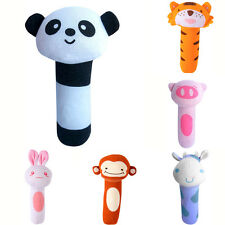 New Fashion Toys Baby Animal BB Stick Baby Cute Toys Soft Toys 0-1 Years Old