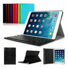 Wireless Bluetooth Keyboard Stand Smart Case Leather Cover For iPad Air/Air2