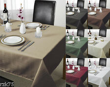 Chequers Table Cloth, Designer Table Cloths And Linen, Many Colours & Sizes