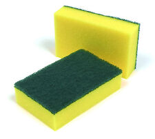 HEAVY DUTY SPONGE Large Cleaning Supplies Scouring Pad Scourer Kitchen Catering