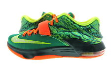 "Men Nike KD 7 ""Weatherman"" Emerald Green/Orange 653996-303"