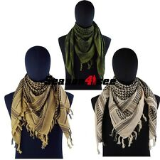 Tactical Airsoft Outdoor Military Arab Shemagh Kafiya Scarf Mask Veil 3 Colors