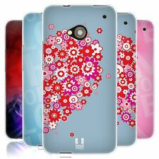 HEAD CASE COUPLE CARTOON SILICONE GEL CASE FOR HTC ONE