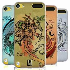 HEAD CASE ELEMENTS SILICONE GEL CASE FOR APPLE iPOD TOUCH 5G 5TH GEN