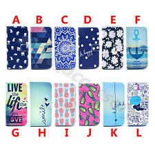 1Pc For Various Phone Popular PU Leather Card Pouch Wallet Stand Case Cover Skin
