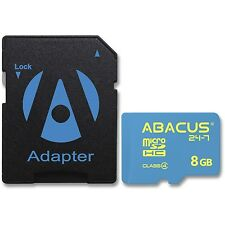 8GB micro SD/SDHC High Capacity Flash Memory Card w/SD Adapter for Cell Phone