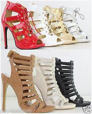 New Women's Fashion Sexy High Heel Platform Stilettos Strappy Sandals Pumps