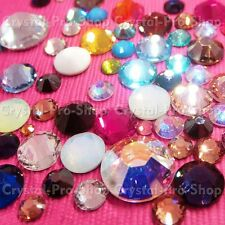 12ss Genuine Swarovski Hotfix Iron On Rhinestone nail Crystal 3.2mm ss12 setHF