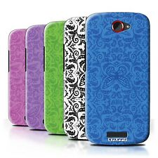 STUFF4 Back Case/Cover/Skin for HTC One S/Insect Pattern