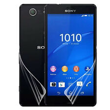 Front& Back Clear Full Body Screen Protector For Sony Xperia Z3 Compact Mini Lot