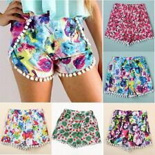 New Women Festival Summer Beach Crochet Lace Shorts Hot Pants Mini Skirt UK 8-20