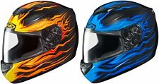 HJC CS-R2 Flame Block Full Face Motorcycle Helmet