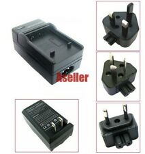 Battery Charger For Panasonic Lumix DMC-FX100 DMC-FX50 DMC-FX12 DMC-FX10 DMC-LX1