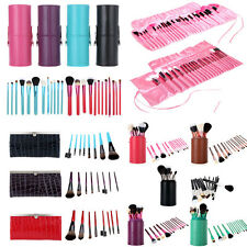 Makeup Brushes Set 8/12/13/22/24PCS Cosmetic Brush Tool Leather Case/Cup Holder