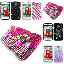 For LG Volt LS740 F90 Colorful Bling Diamond Rhinestone Hard Case Cover Phone