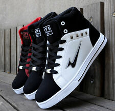 New Fashion Men's Casual High Top Sport Sneakers Outdoor Athletic Running Shoes