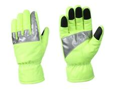 Rothco 5487 Insulated Hi-Vis Safety Green Gloves with Reflective Tape