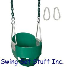 SWING SEAT FULL BUCKET WITH 5 1/2 COATED CHAIN ACCESSORIES - SET PLAYGROUND0051
