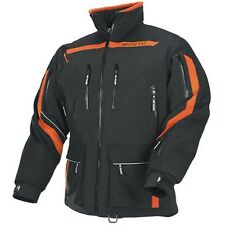 Arctic Cat Men's Boondocker Snowmobile Coat Jacket - Orange - 5240-52_