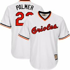 Jim Palmer 1982 Baltimore Orioles Cooperstown Home White Cool Base Jersey Men's