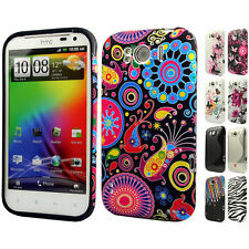 Silicone TPU Gel Bumper Case Cover Sleeve Skin For The HTC Sensation XL