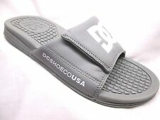 DC Drifter After-Sport Slides Mens Grey/White